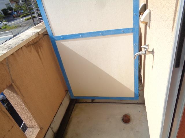 洗濯機置場(ベランダ)