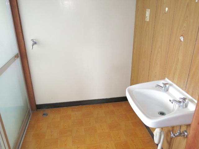 洗面・洗濯機置場